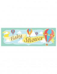 Bannière Baby shower Petite Montgolfière 50 x 150 cm