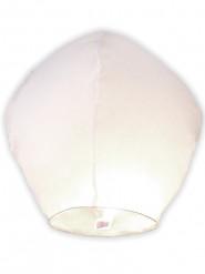 Lanterne volante blanche 1 m