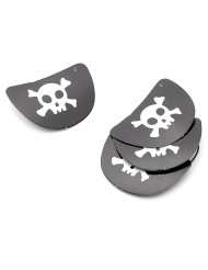 4 Cache-oeil pirate en carton