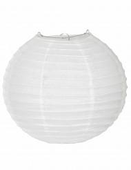 Lanterne japonaise blanche 25 cm