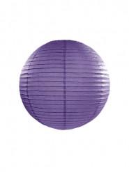 Lanterne japonaise violette 25 cm
