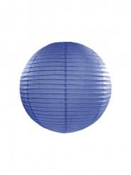 Lanterne japonaise bleu roi 25 cm