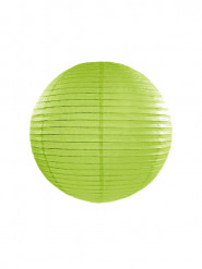 Lanterne japonaise vert pomme 25 cm