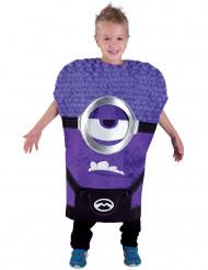 Déguisement minimoi violet enfant