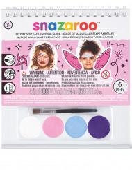 Mini kit maquillage fille Snazaroo™ avec livret