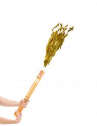 Canon à confettis dorés 60 cm