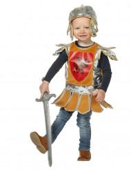 Déguisement petit chevalier orange bébé