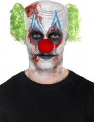 Kit maquillage et accessoire clown sinistre adulte Halloween