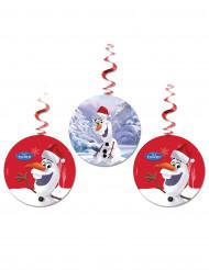 3 Suspensions Olaf Christmas™