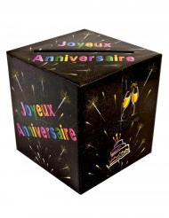 Tirelire urne joyeux anniversaire chic