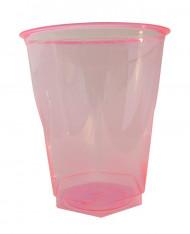 10 Gobelets en plastique fuchsia 25 cl