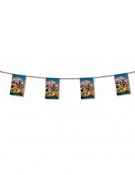 Guirlande fanions en papier Country 4 mètres
