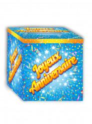 Urne Joyeux Anniversaire 20 x 20 cm