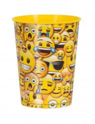 Verre en plastique smiley Emoji™