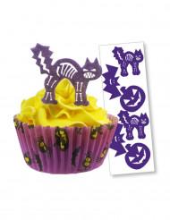12 Décorations en sucre Halloween