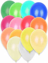 50 ballons assortiment de couleurs