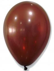50 Ballons métalliques marrons