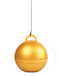 Poids ballon hélium or