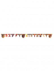 Guirlande articulée Happy birthday Avengers Civil War™ 2 m