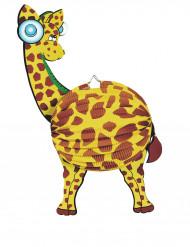 Lanterne papier girafe 45 cm