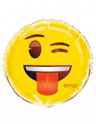 Ballon aluminium clin d'oeil Emoji™