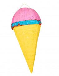 Piñata cornet de glace 64 x 30 cm
