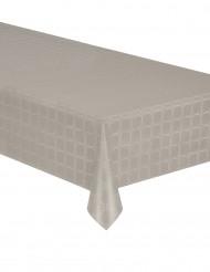 Nappe en rouleau papier damassé taupe 6 mètres