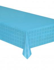 Nappe en rouleau papier damassé turquoise 6 mètres