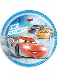 8 Assiettes en carton Cars Ice™ 23 cm