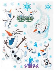 Décorations pour fenêtres Olaf La Reine des neiges™ 20 x 30 cm
