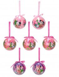 7 Boules de Noël Minnie™ 7,5 cm