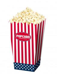 4 Boîtes Pop-corn USA