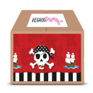 Maxi Pack Anniversaire Carte au trésor Pirate