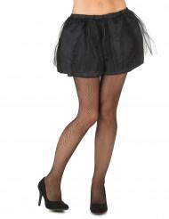Tutu noir avec jupon opaque femme