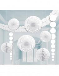 Kit de décorations Blanches