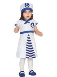Déguisement robe marin bébé