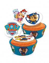 16 Mini disques en sucre Pat'Patrouille™ 3,4 cm