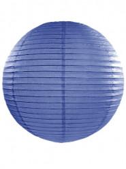 Lanterne japonaise bleu roi 45 cm