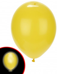 5 Ballons LED jaunes Illooms ®