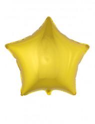 Ballon aluminium étoile dorée 70 cm