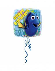 Ballon aluminium Happy Birthday Le Monde de Dory™ 43 cm