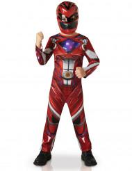 Déguisement classique Power Rangers™ Rouge enfant