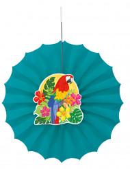 Rosace en papier Tropical 30 cm
