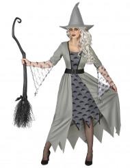 Déguisement Sorcière grise femme