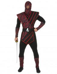 Déguisement ninja fauve homme