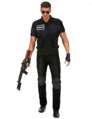 Déguisement agent du SWAT homme