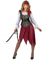 Déguisement Pirate gipsy femme