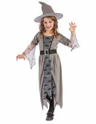 Déguisement sorcière grise fille
