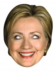 Masque carton Hilary Clinton
