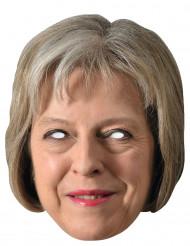 Masque carton Theresa May